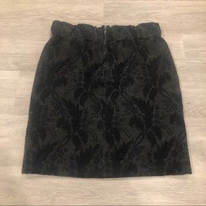 Marni Wool Blend Mini Skirt Size 38/US Size 2